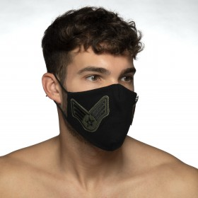 ARMY SHIELD FACE MASK NEGRO 10