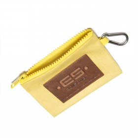 COIN HOLDER JEANS KEY CHAIN YELLOW 03