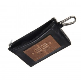 COIN HOLDER JEANS KEY CHAIN NEGRO 10