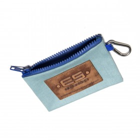 COIN HOLDER JEANS KEY CHAIN ROYAL BLUE 16