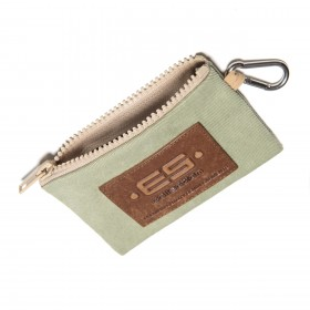 COIN HOLDER JEANS KEY CHAIN GREEN 18