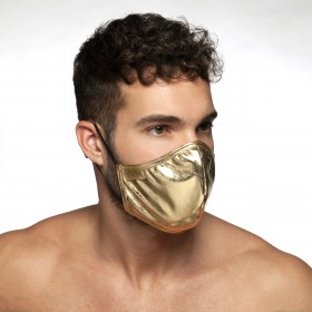PARTY MASK GOLD 20