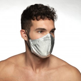 PARTY MASK PLATA 21