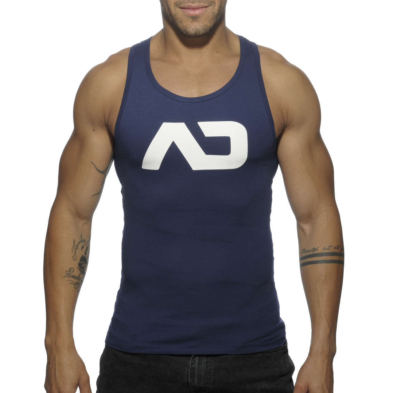BASIC AD TANK TOP NAVY 09