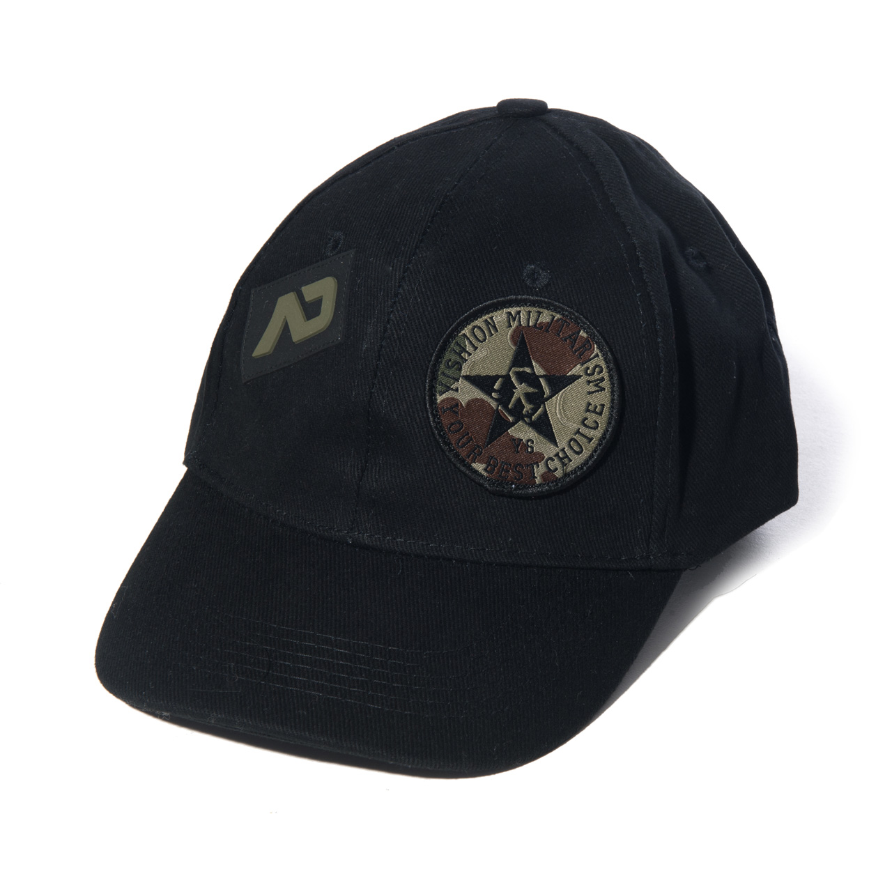 ARMY CAP BLACK 10