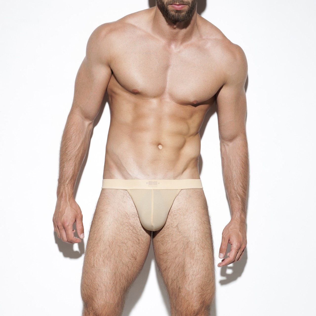 SECOND SKIN BASIC THONG BEIGE 28