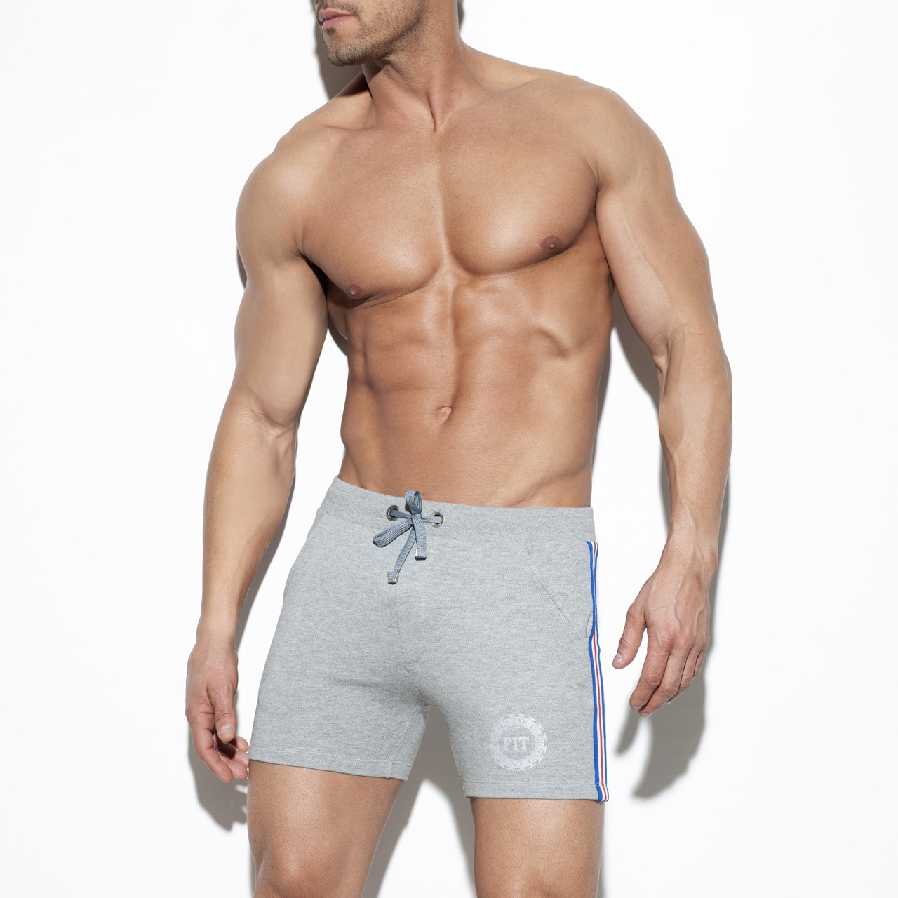 FIT TAPE SPORT SHORT  HEATHER GREY 11