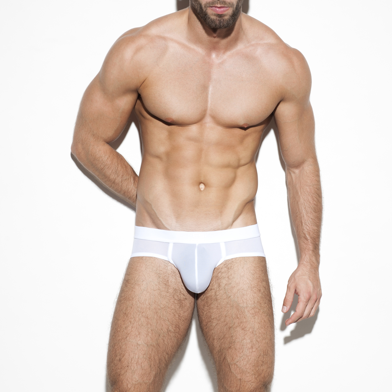 SECOND SKIN BASIC BRIEF WHITE 01