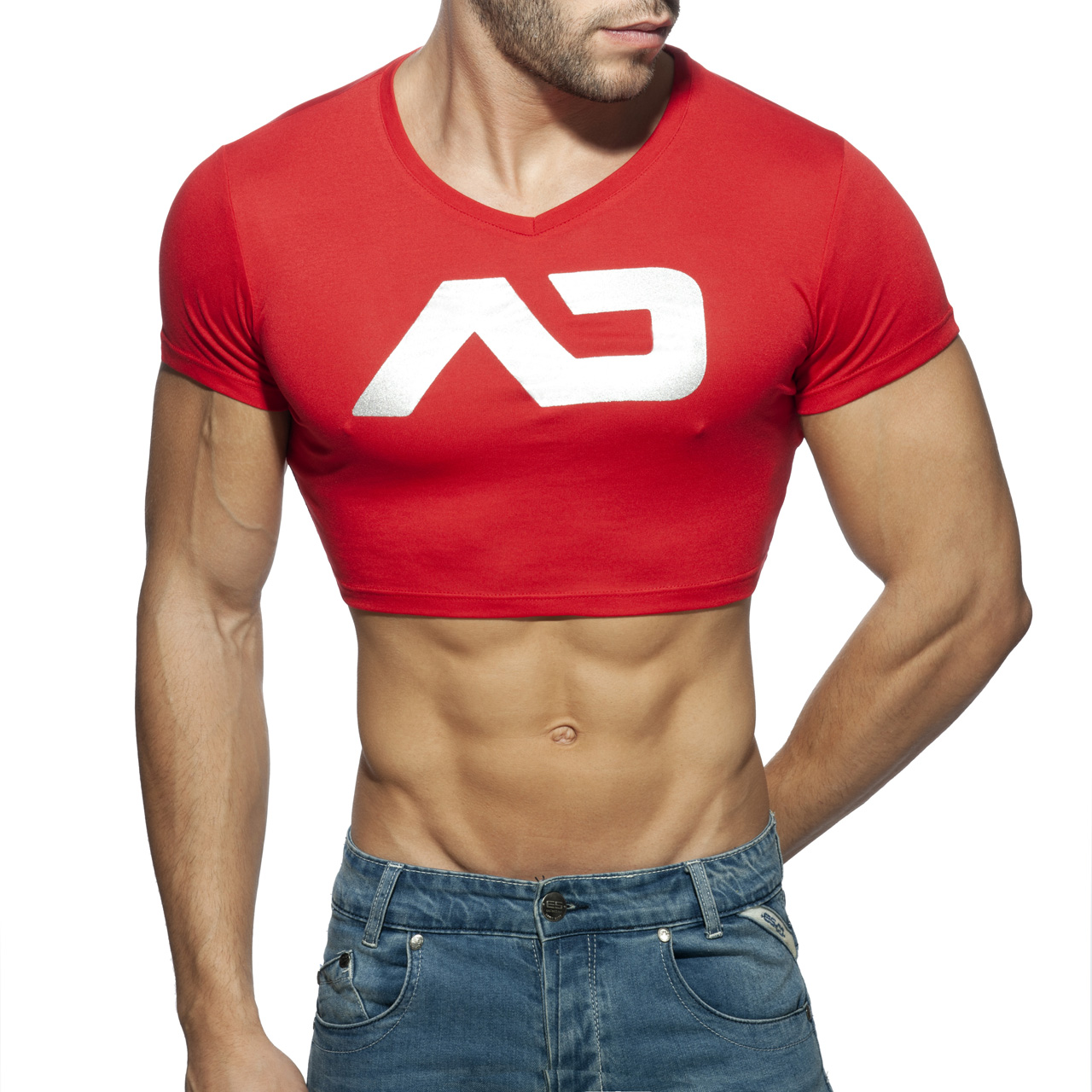 CROP AD TOP RED 06