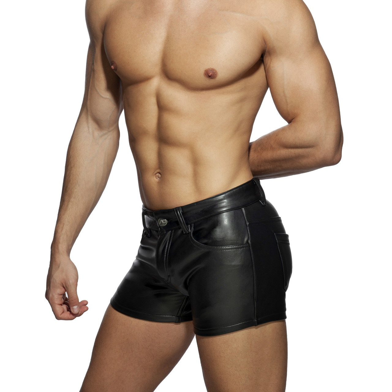 FETISH SHORTS BLACK 10