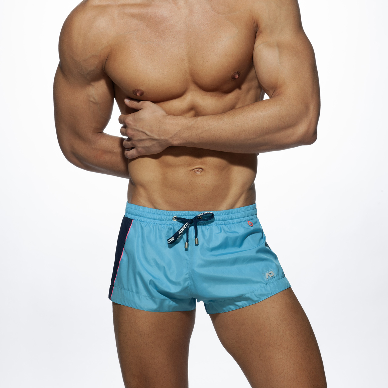 RACING SIDE SHORT TURQUOISE 08